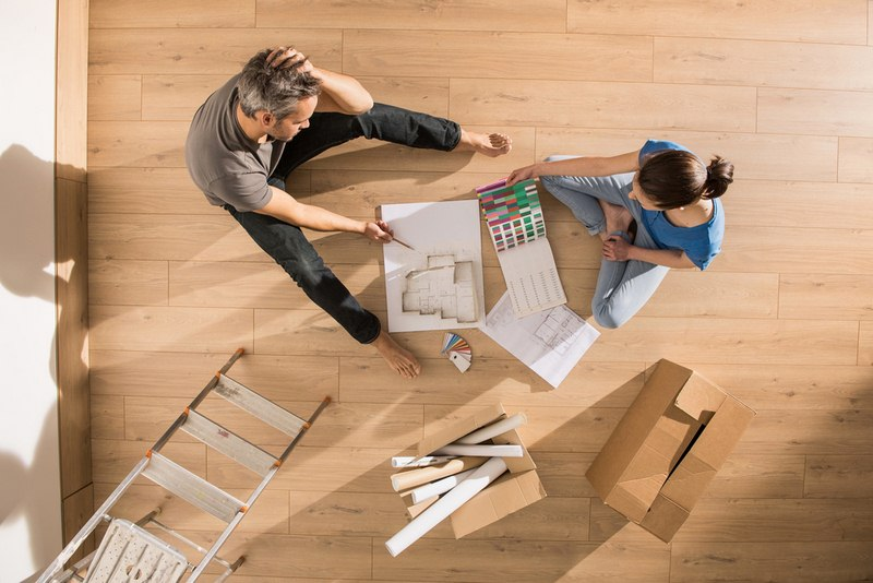 Do a Floor Renovation - How to Make Your Living Room More Inviting