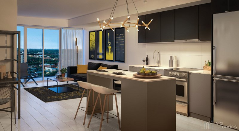 Ample Ways to Save Space in the Small Condo Kitchen
