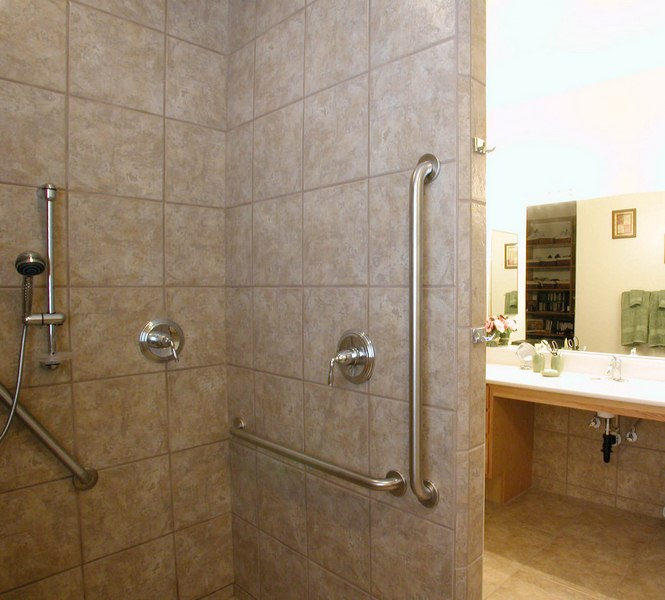 Install a Shower Grab Bar - Top 10 Ways to Make Bathroom Safer for Elderly