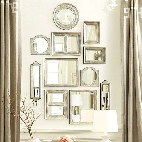 Multiple Wall Mirrors - 5 Ways on How to Style Your House With Mirrors