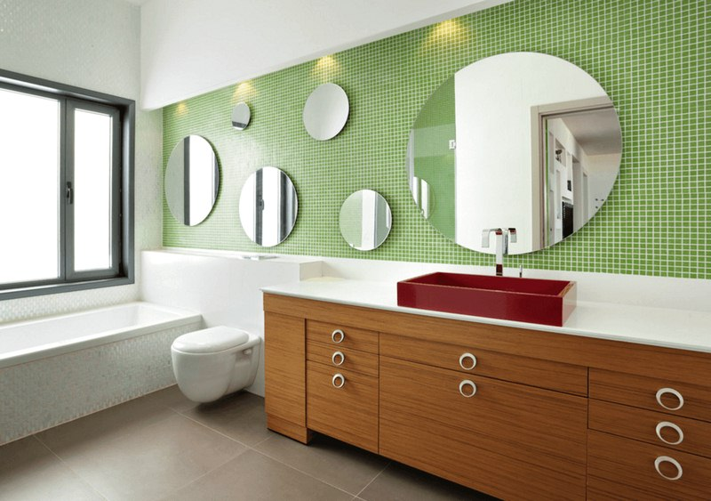 Mirror in the Bathroom - 5 Ways on How to Style Your House With Mirrors