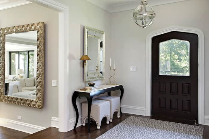 Entrance Odd Shaped Mirrors - 5 Ways on How to Style Your House With Mirrors