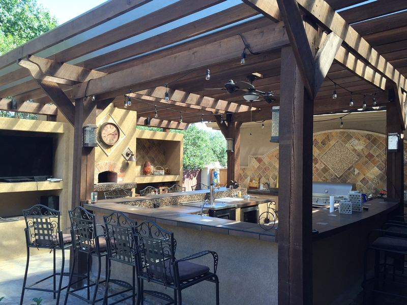 Handy Outdoor Kitchen - 4 Ways to Create a Backyard Getaway