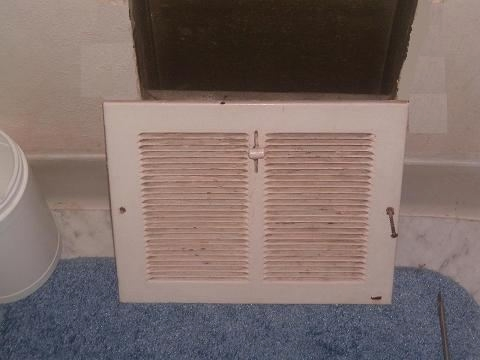 Supply Vent in Wall - DIY Air Duct Cleaning, How to Clean Air Ducts
