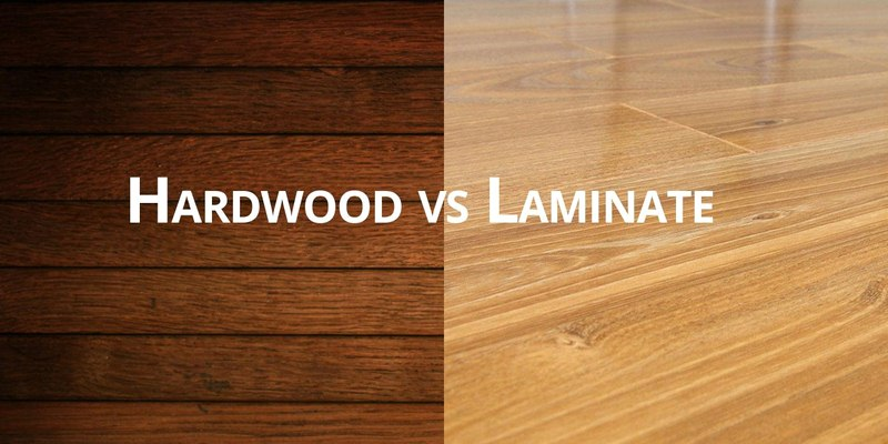 How Much for Hardwood Floors vs Laminate Cost