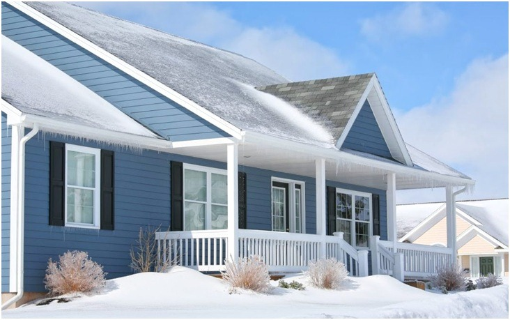 House with Snow - How to Prepare Your Roof for Winter