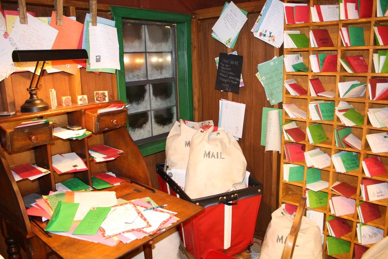 The Mail Room in Santa's Workshop