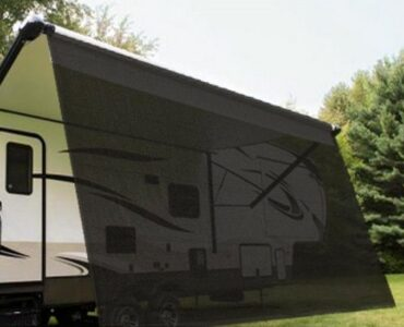 Stoneshadetarp Top RV Sideblocker