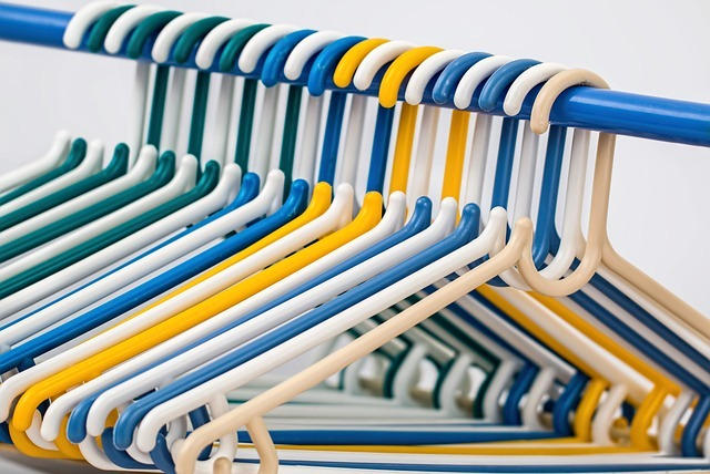 Hangers can really save space in your bedroom