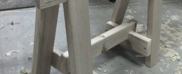 Featured of Exceptional Uses of a Sawhorse in Woodworking
