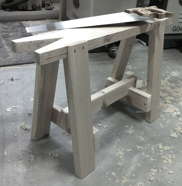Exceptional Uses of a Sawhorse in Woodworking