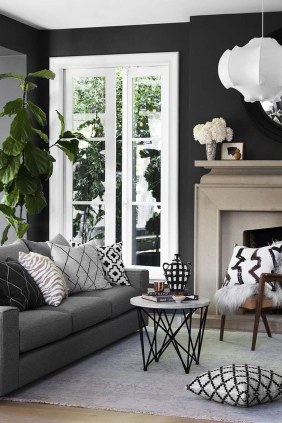 Selecting the Wall Color First Before Buying Furnitures