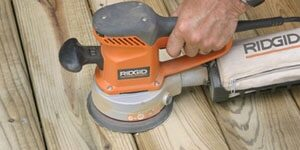 Featured of Tips on Sanding Between Deck Boards