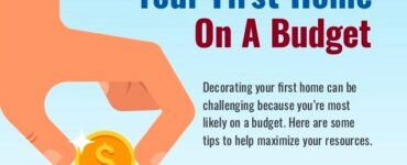 Featured of How to Decorate Your First Home on a Budget [Infographic]