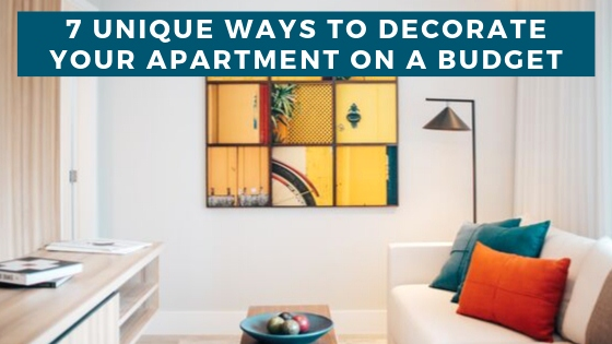 image - 7 Creative + Affordable Ways to Decorate Your Apartment