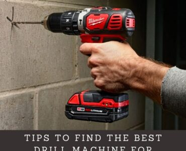 Featured image - Tips to Find the Best Drill Machine for Concrete Wall