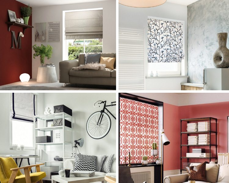 image - 6 Types of Roman Shades that Instantly Brighten & Update Every Room's Style