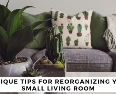 Featured image - 7 Unique Tips for Reorganizing Your Small Living Room