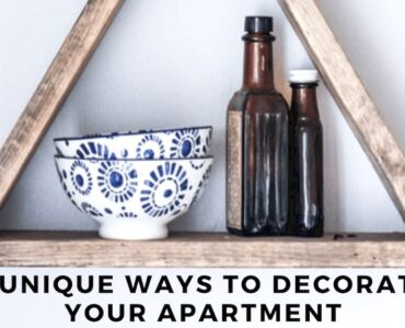 Featured image - 7 Unique Ways to Decorate Your Apartment