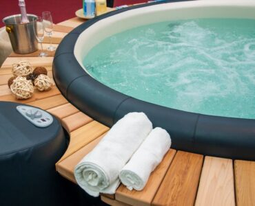 Featured image - Relaxing and Beneficial, Too - 7 Key Health Benefits of Hot Tubs