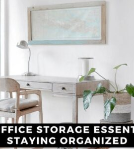 Featured image - 5 Home Office Storage Essentials for Staying Organized