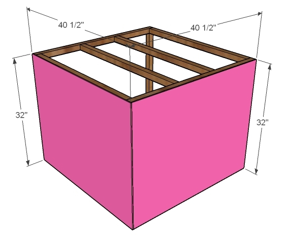 Step 3 - How to Build Twin Corner Beds with Storage