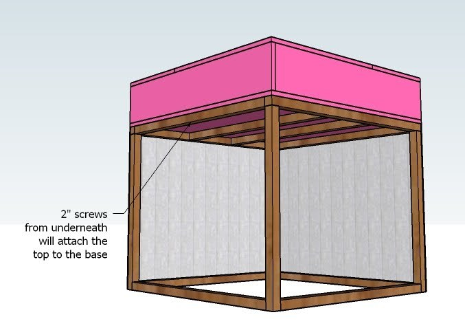 Step 8 - How to Build Twin Corner Beds with Storage