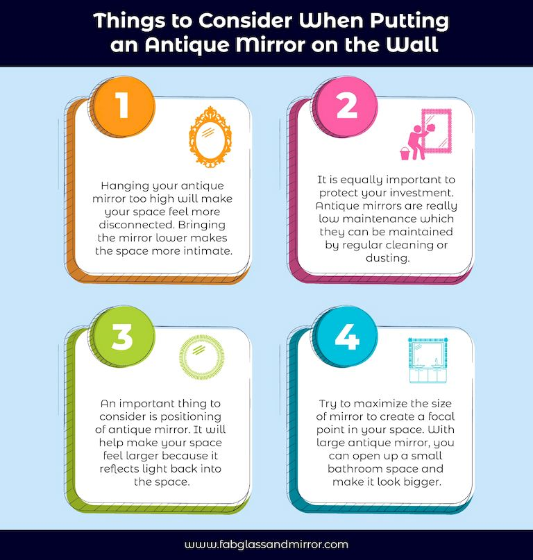 image - Things to Consider When Putting an Antique Mirror on the Wall