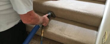 Featured image - 5 Tips for Cleaning Carpet Stairs