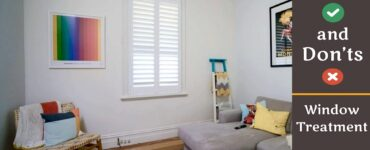 Fetured image - Window Treatment - Do's and Don'ts
