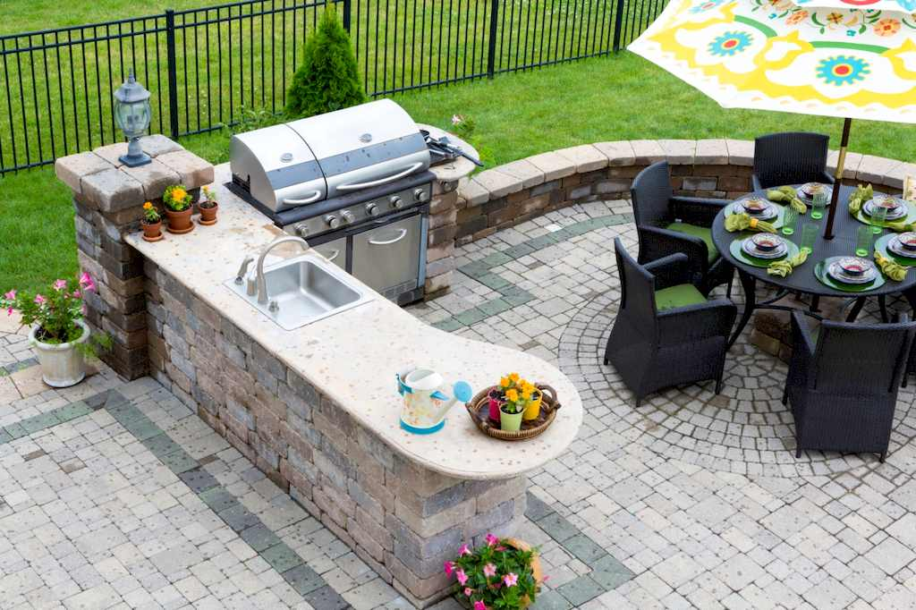 image - How to Build a Gorgeous Backyard Kitchen for Good Weather Events