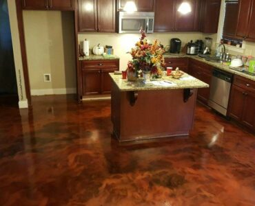 Featured image - How to Stain Concrete Floors - Step by Step Guideline