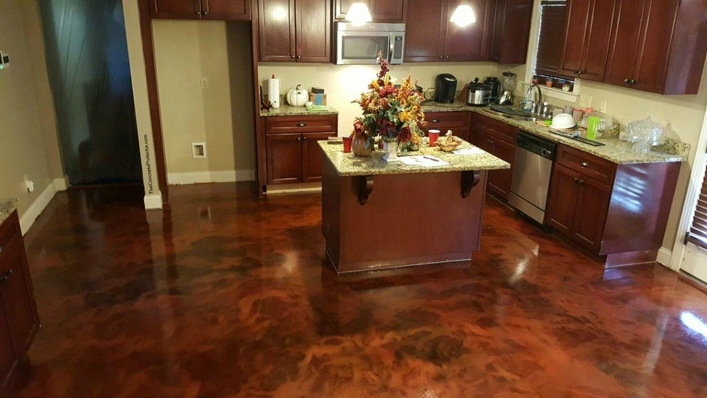 image - How to Stain Concrete Floors - Step by Step Guideline