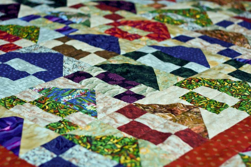 image - A Step-By-Step Guide to Making a Unique and Gorgeous Patchwork Quilt
