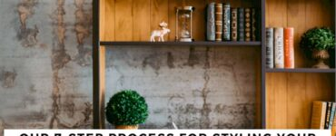 Featured image - Our 7-Step Process for Styling Your Bookshelf to Match Your Apartment