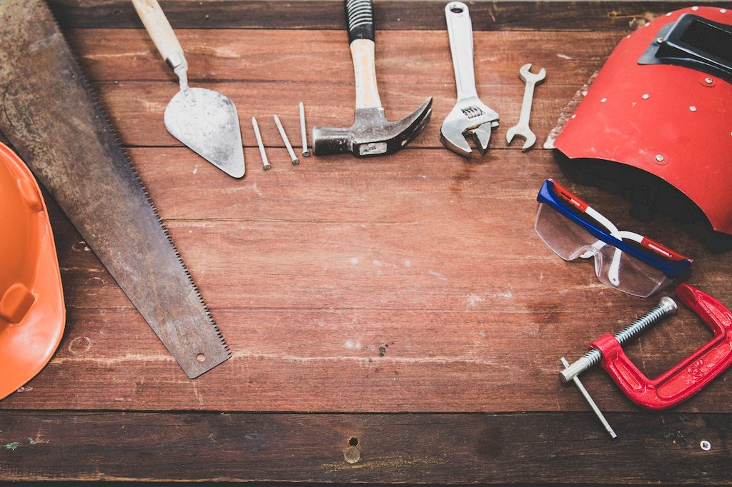 image - All the right tools for the following tips for maintaining your Florida home.