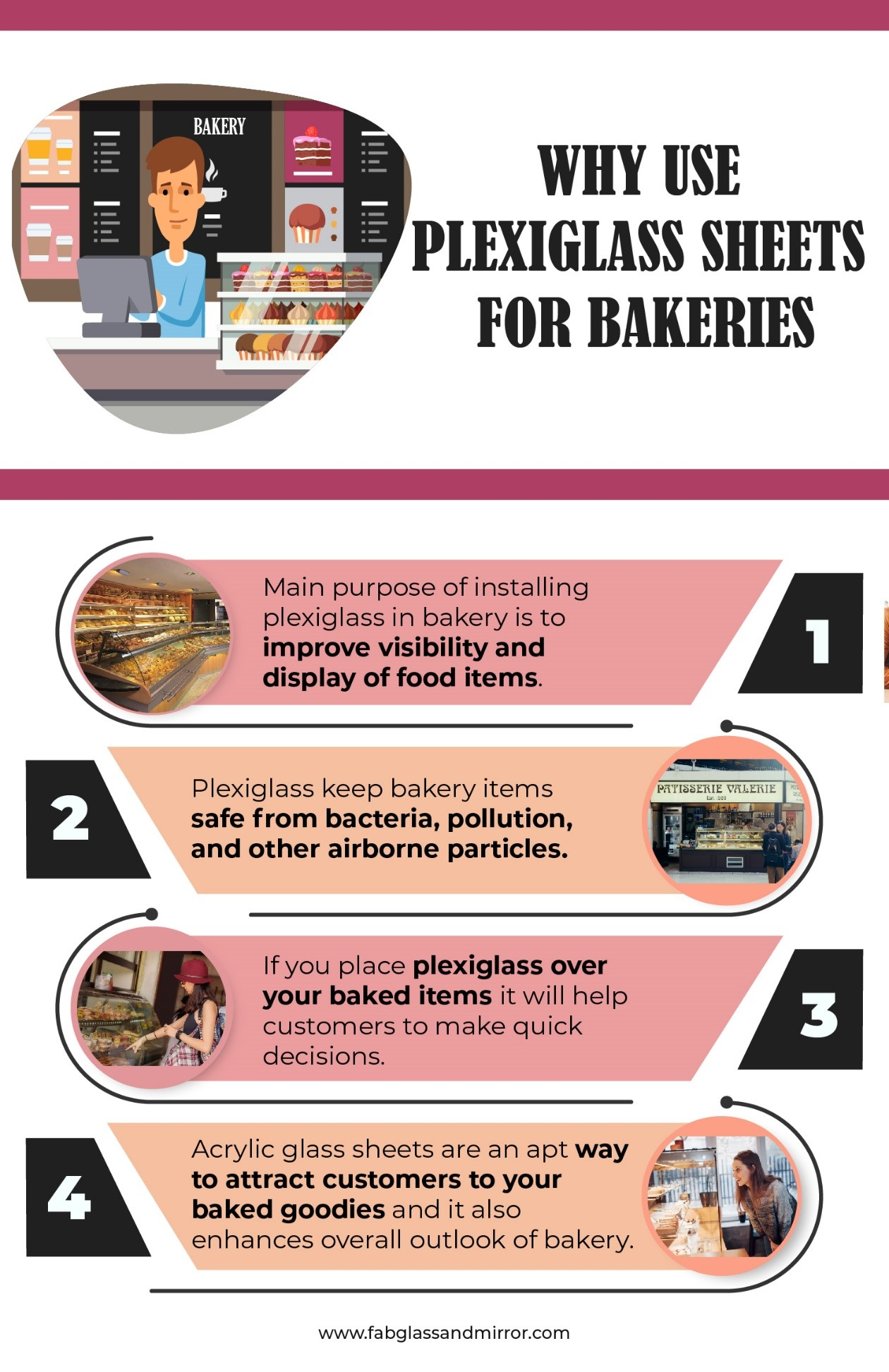 image - Why Use Curved Plexiglass Sheets in Bakeries