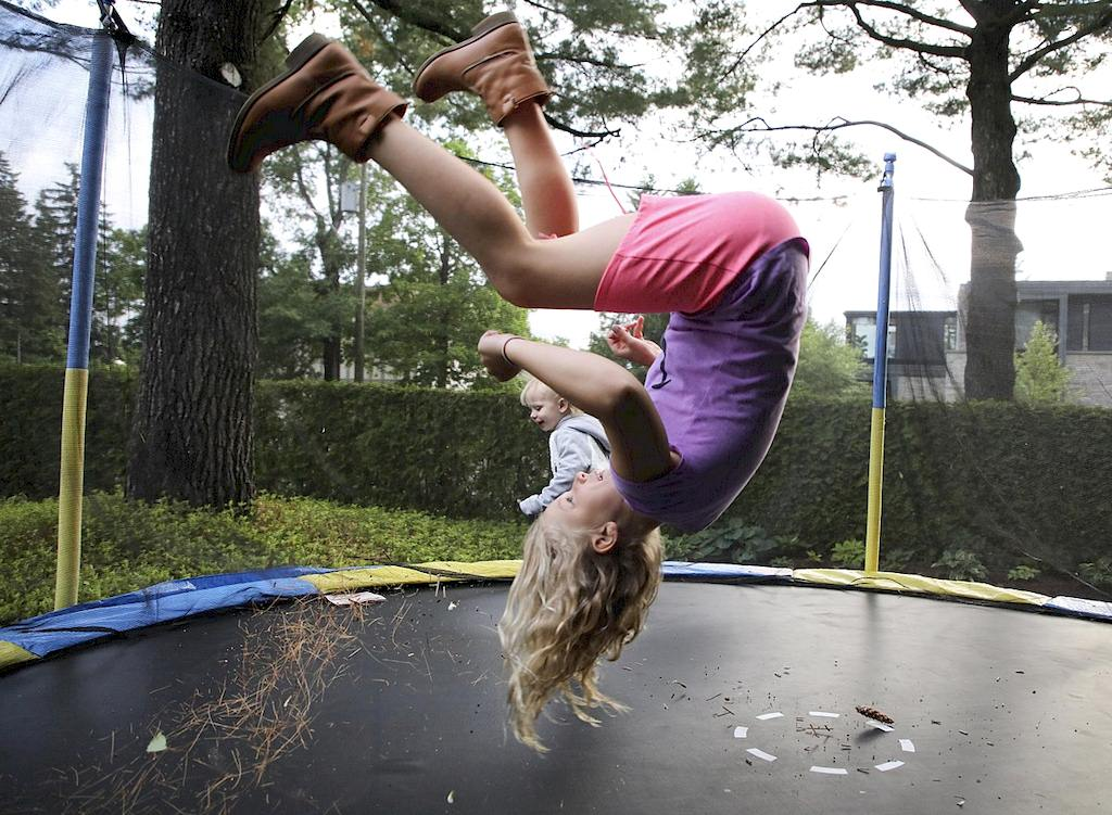 Trampolin - Check Weight Limits