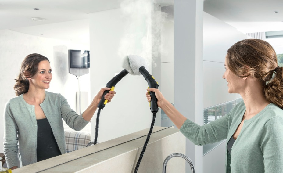 image - How to Use a Steam Cleaner in the Bathroom
