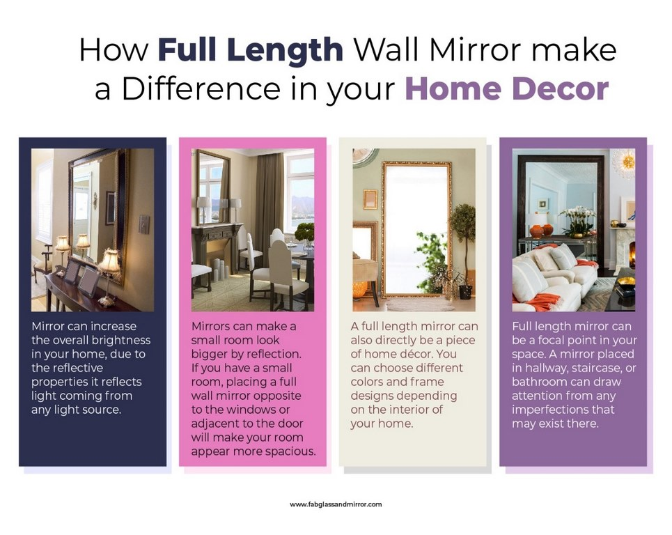 image - Striking Ways to Decorate Your Home with Full Wall Mirrors