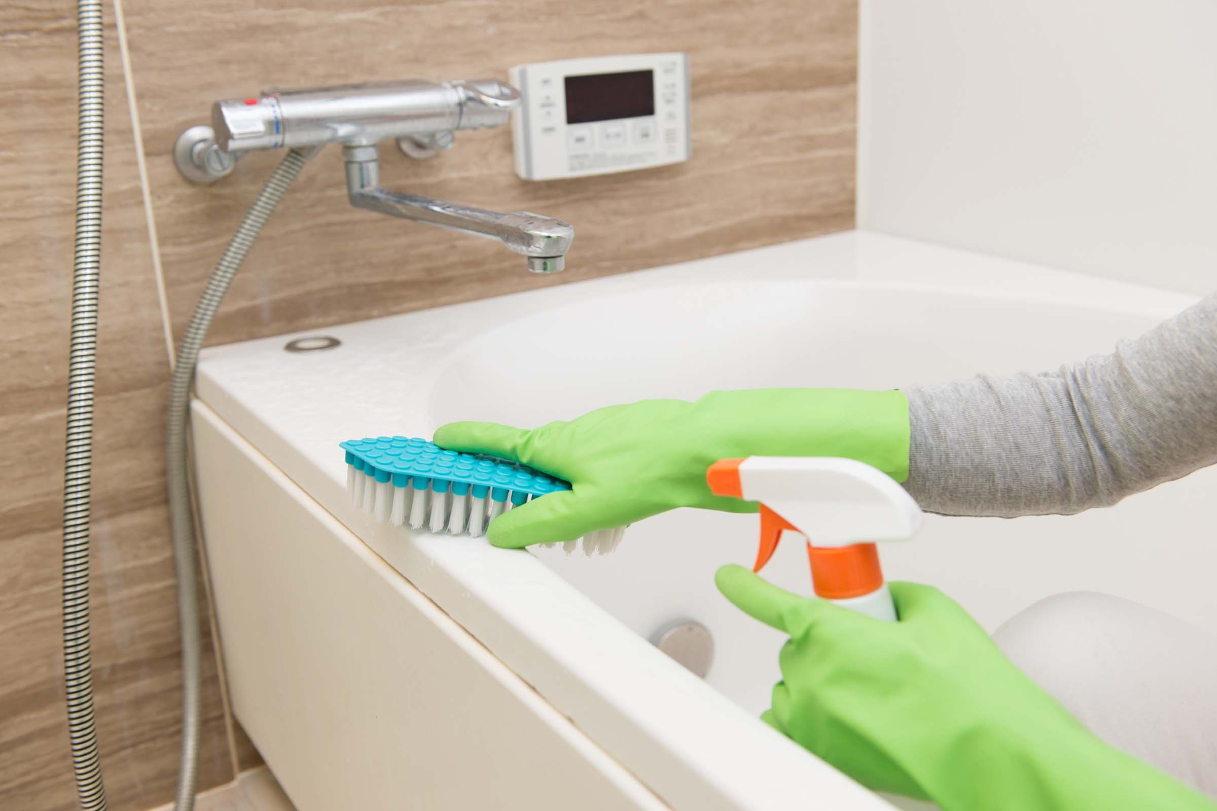 image - Cleaning Bathroom