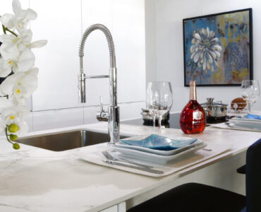 Featured image - Factors to Consider When Choosing Kitchen Faucets