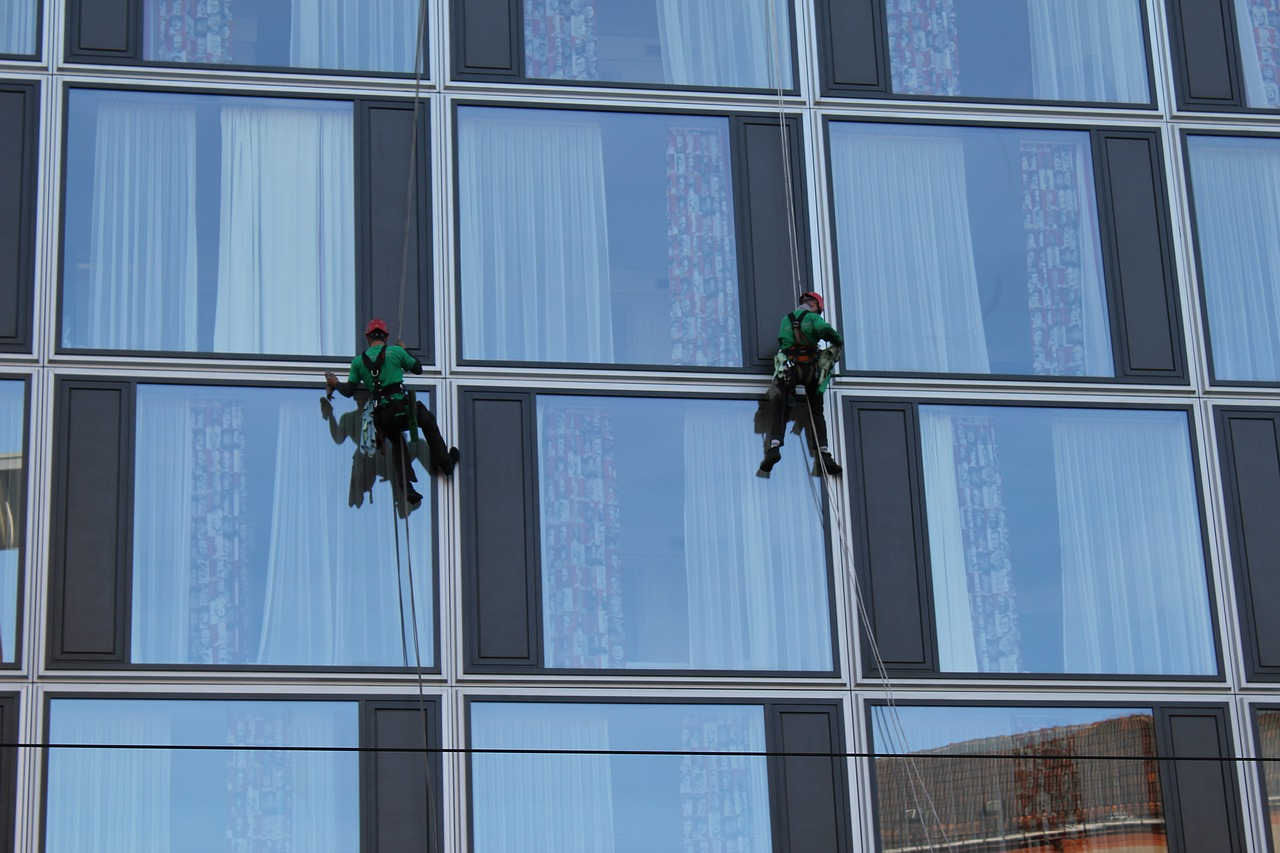 image - Let Your Business Shine Through Commercial Building Cleaning & Maintenance