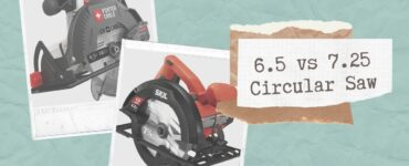 Featured image - 6.5 vs 7.25 Circular Saw: Which One is Suitable for You