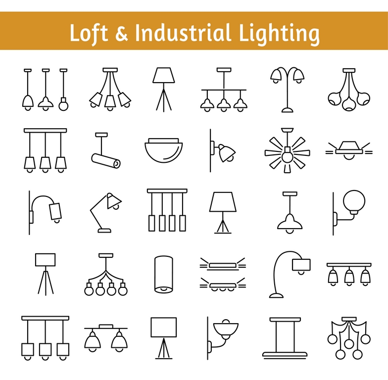 image - loft and industrial lighting