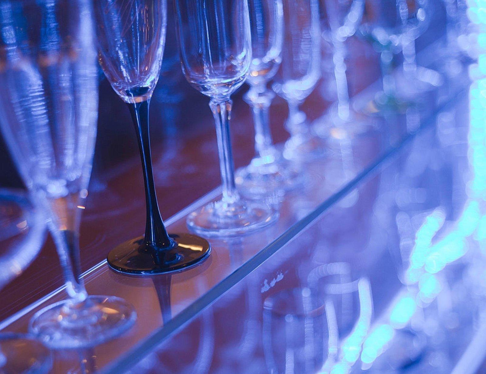 image - Neon Glass Shelve