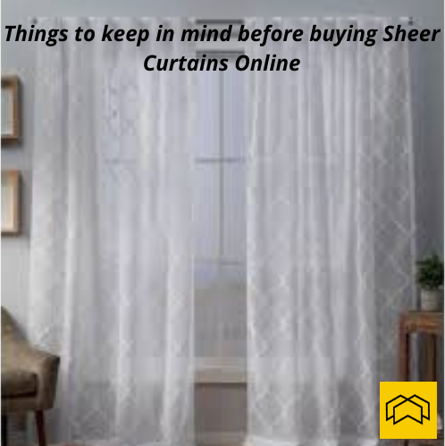 image - Things to Keep in Mind Before Buying Sheer Curtains Online