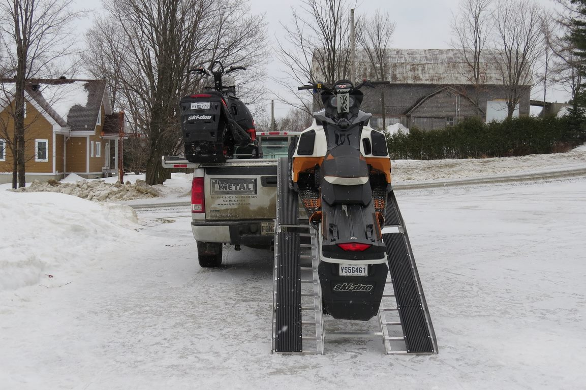image - Buy a Solid Sled Deck to Tow Heavyweight Snowmobiles with Ease