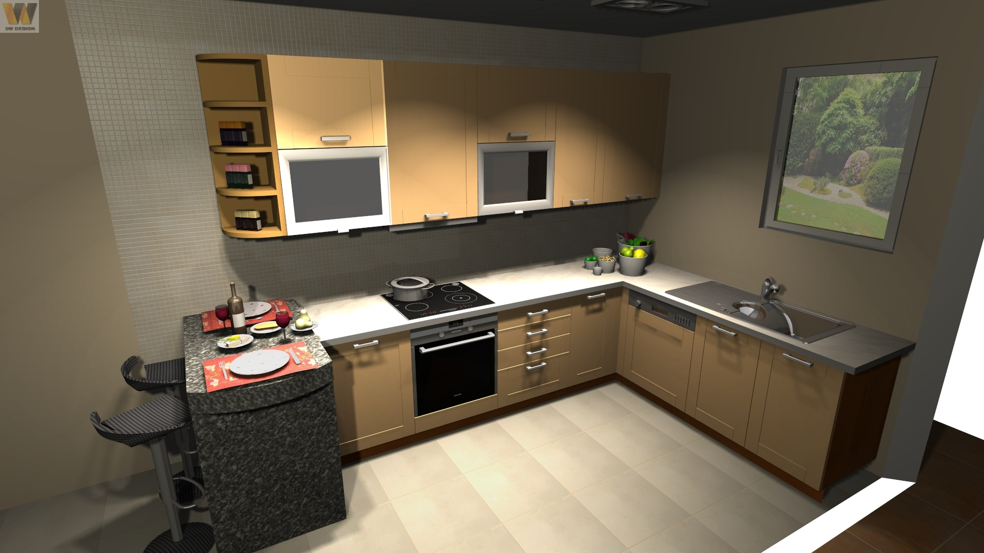 image - 5 Kitchen Redesign Tips for a Functional, Yet Safe Kitchen
