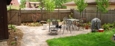 Featured image - Transform Outdoor Living Space with Paver Patio and Cool Landscaping